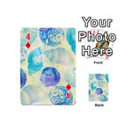Seashells Playing Cards 54 (Mini)  Front - Diamond4