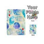 Seashells Playing Cards 54 (Mini)  Front - Diamond7
