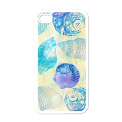 Seashells Apple Iphone 4 Case (white) by DanaeStudio