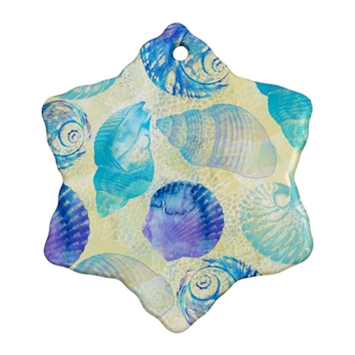 Seashells Ornament (Snowflake)