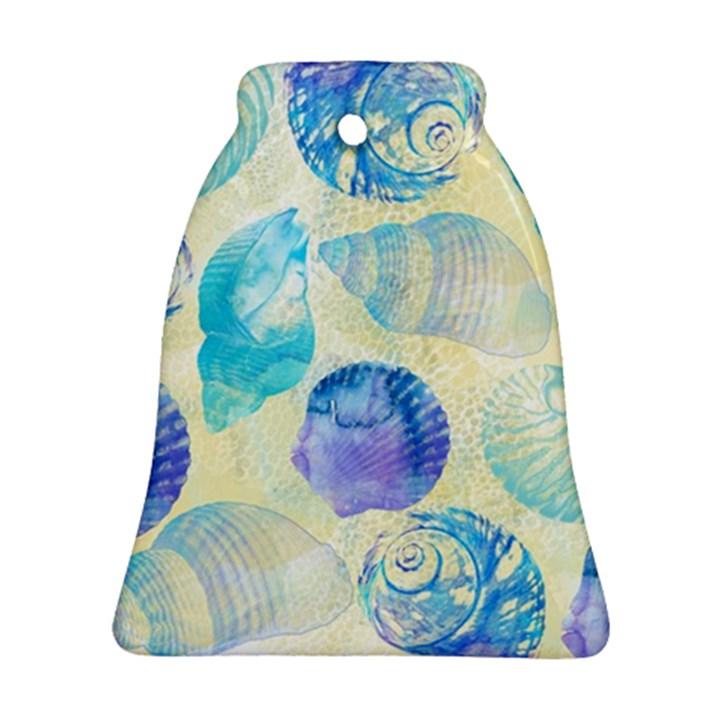 Seashells Bell Ornament (2 Sides)