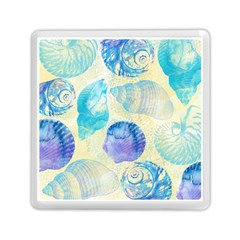 Seashells Memory Card Reader (square)  by DanaeStudio