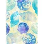 Seashells Heart Bottom 3D Greeting Card (7x5) Inside