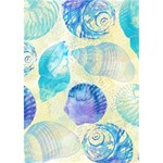 Seashells Ribbon 3D Greeting Card (7x5) Inside