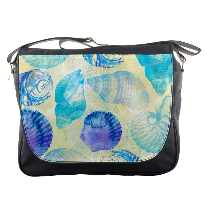 Seashells Messenger Bags