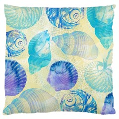 Seashells Large Cushion Case (Two Sides)