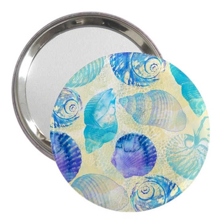 Seashells 3  Handbag Mirrors