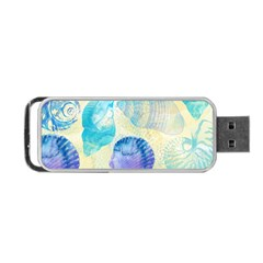 Seashells Portable USB Flash (One Side)