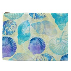 Seashells Cosmetic Bag (xxl)  by DanaeStudio