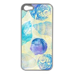 Seashells Apple iPhone 5 Case (Silver)