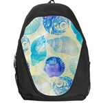 Seashells Backpack Bag Front