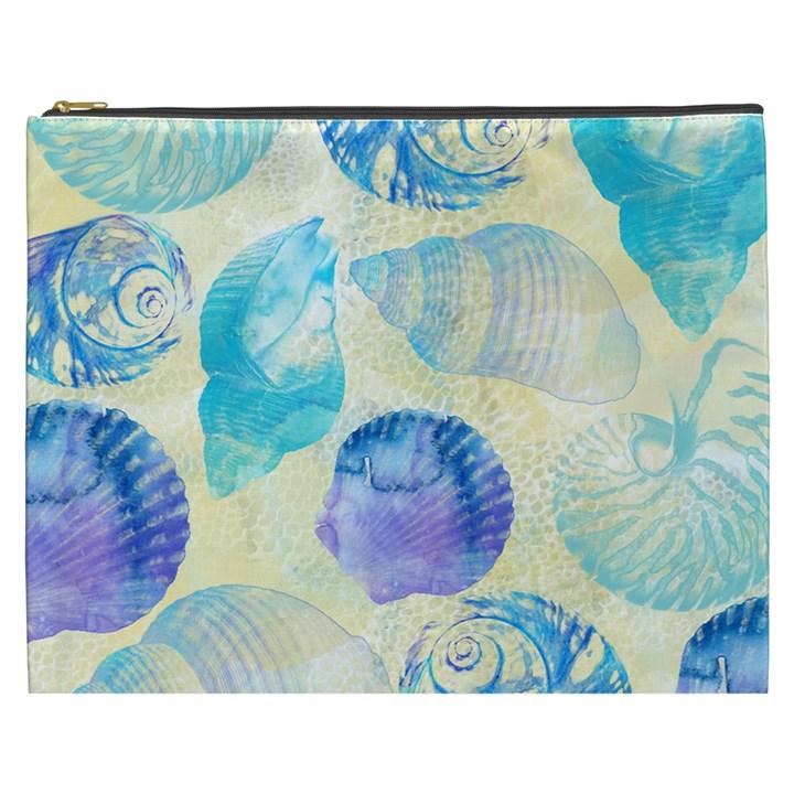 Seashells Cosmetic Bag (XXXL)