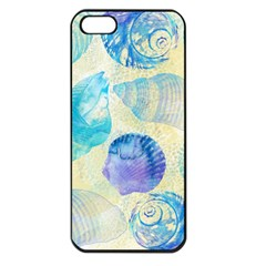 Seashells Apple Iphone 5 Seamless Case (black) by DanaeStudio