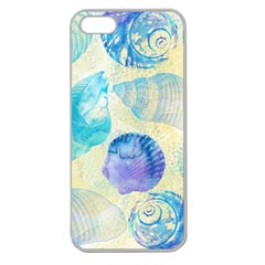 Seashells Apple Seamless Iphone 5 Case (clear)