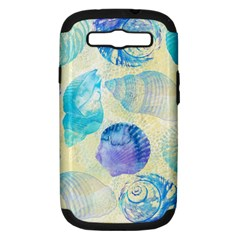 Seashells Samsung Galaxy S Iii Hardshell Case (pc+silicone) by DanaeStudio