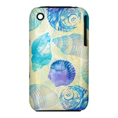 Seashells Apple Iphone 3g/3gs Hardshell Case (pc+silicone) by DanaeStudio