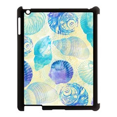 Seashells Apple Ipad 3/4 Case (black) by DanaeStudio