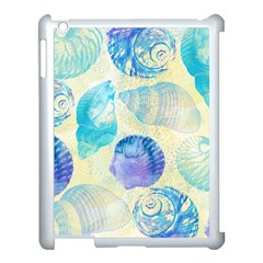 Seashells Apple Ipad 3/4 Case (white) by DanaeStudio
