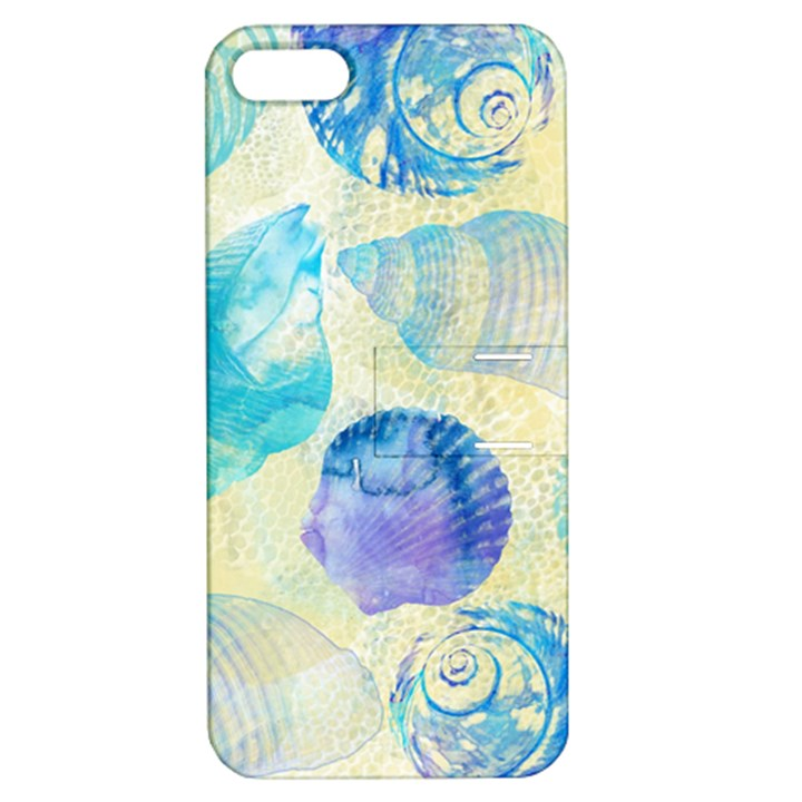 Seashells Apple iPhone 5 Hardshell Case with Stand