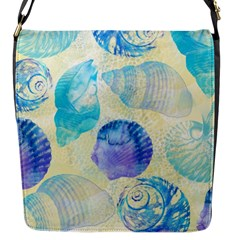 Seashells Flap Messenger Bag (s) by DanaeStudio