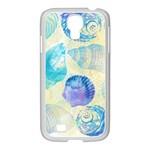Seashells Samsung GALAXY S4 I9500/ I9505 Case (White) Front