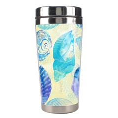 Seashells Stainless Steel Travel Tumblers by DanaeStudio