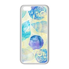 Seashells Apple iPhone 5C Seamless Case (White)