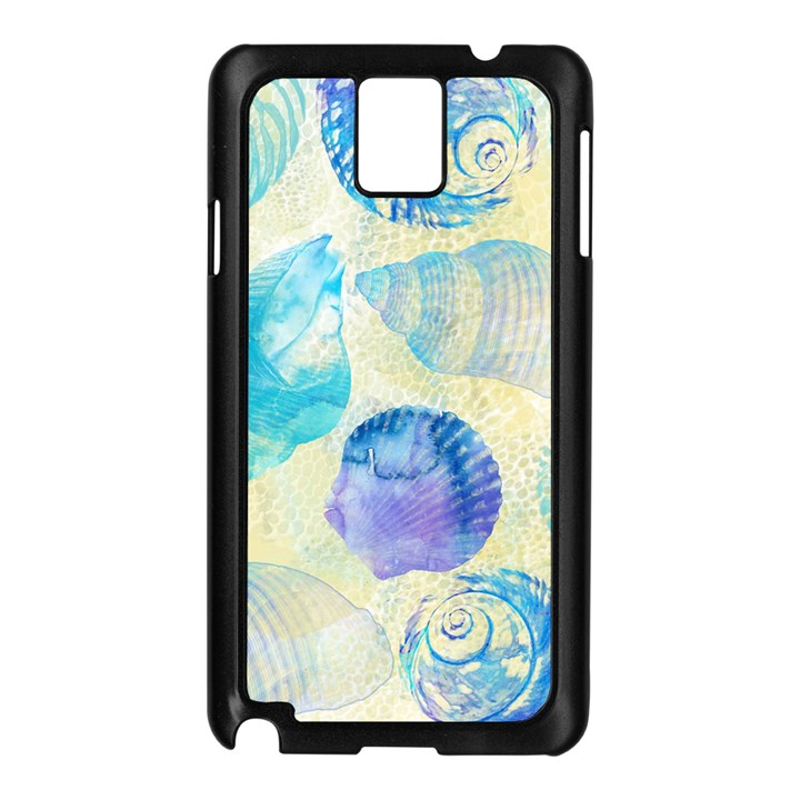 Seashells Samsung Galaxy Note 3 N9005 Case (Black)