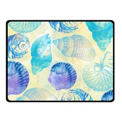 Seashells Double Sided Fleece Blanket (Small)