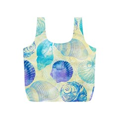 Seashells Full Print Recycle Bags (S)