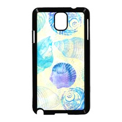 Seashells Samsung Galaxy Note 3 Neo Hardshell Case (black)