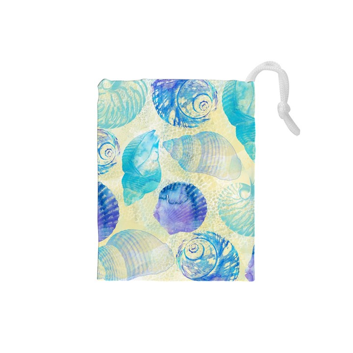 Seashells Drawstring Pouches (Small)