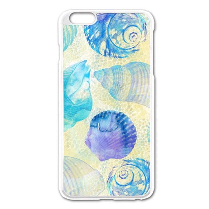 Seashells Apple iPhone 6 Plus/6S Plus Enamel White Case