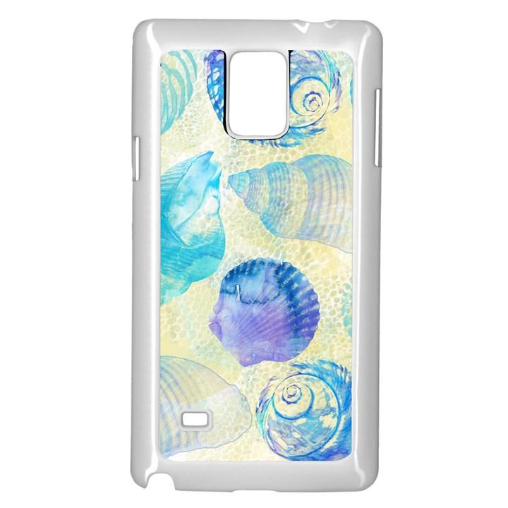 Seashells Samsung Galaxy Note 4 Case (White)