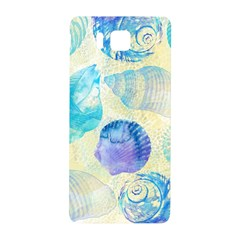 Seashells Samsung Galaxy Alpha Hardshell Back Case by DanaeStudio