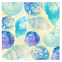 Seashells Large Satin Scarf (Square)