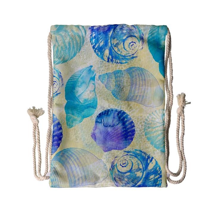 Seashells Drawstring Bag (Small)