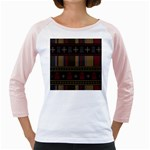 Tardis Doctor Who Ugly Holiday Girly Raglans