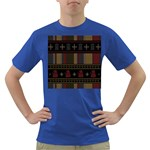 Tardis Doctor Who Ugly Holiday Dark T-Shirt