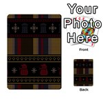 Tardis Doctor Who Ugly Holiday Multi-purpose Cards (Rectangle)