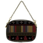 Tardis Doctor Who Ugly Holiday Chain Purses (One Side)