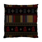 Tardis Doctor Who Ugly Holiday Standard Cushion Case (Two Sides)