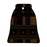 Tardis Doctor Who Ugly Holiday Bell Ornament (2 Sides)