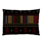 Tardis Doctor Who Ugly Holiday Pillow Case (Two Sides)