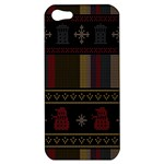 Tardis Doctor Who Ugly Holiday Apple iPhone 5 Hardshell Case