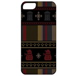 Tardis Doctor Who Ugly Holiday Apple iPhone 5 Classic Hardshell Case
