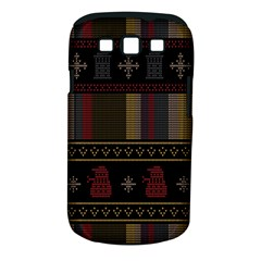 Tardis Doctor Who Ugly Holiday Samsung Galaxy S Iii Classic Hardshell Case (pc+silicone) by Onesevenart