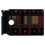 Tardis Doctor Who Ugly Holiday Apple iPad 2 Flip 360 Case