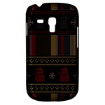Tardis Doctor Who Ugly Holiday Samsung Galaxy S3 MINI I8190 Hardshell Case