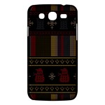 Tardis Doctor Who Ugly Holiday Samsung Galaxy Mega 5.8 I9152 Hardshell Case